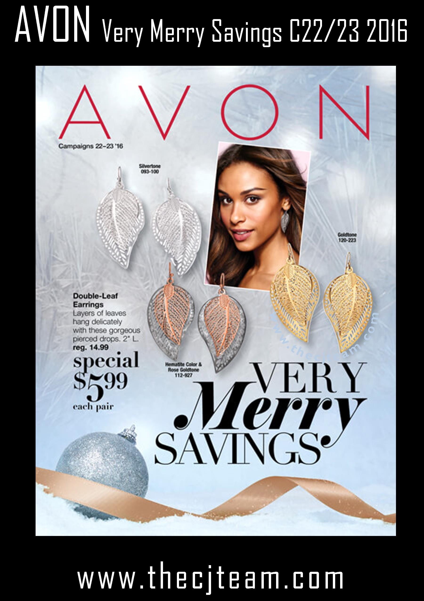 Avon Very Merry Savings Campaign 22/23, 2016 - More Than Makeup Online
