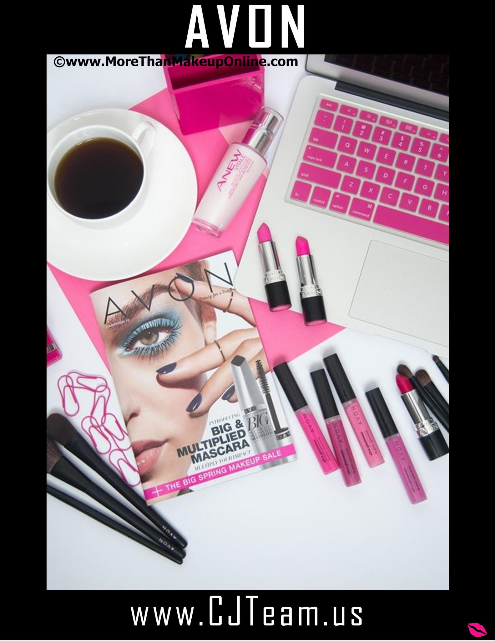 Become an Avon Rep x - More Than Makeup Online