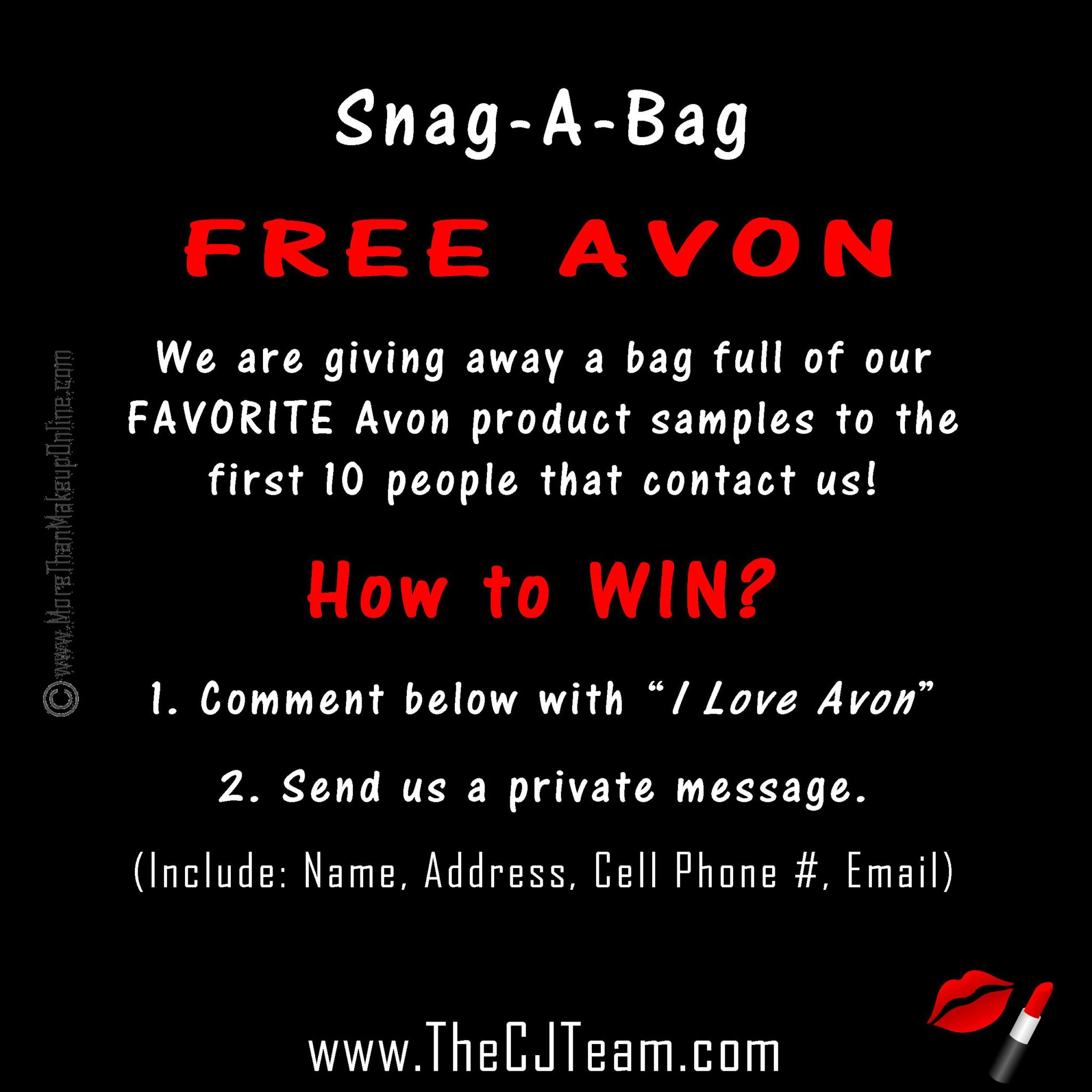Free Avon Samples - More Than Makeup Online