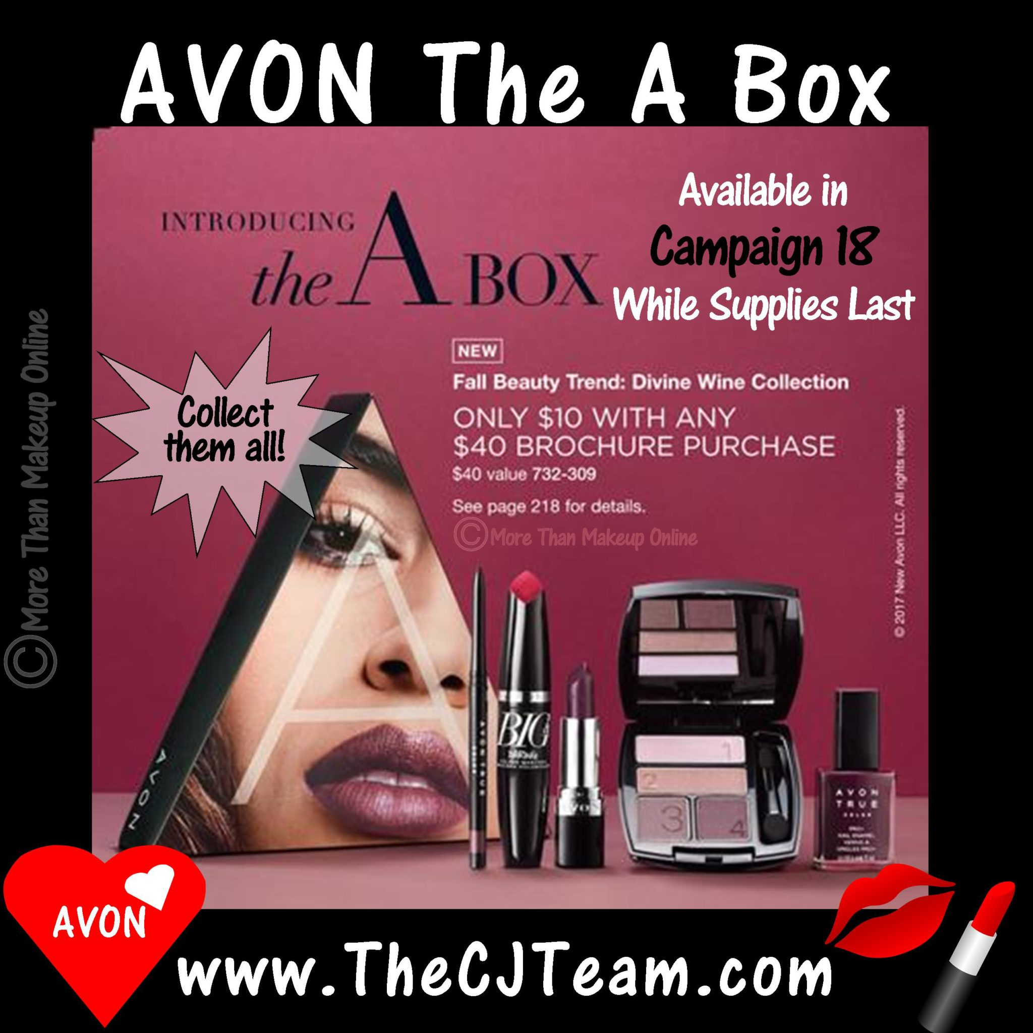 "Avon ""A"" Box - Campaign 18 - More Than Makeup Online"